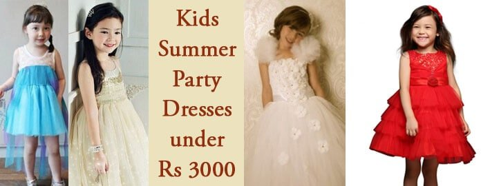 Kids Summer Party Dresses