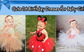 10 Best Cute 1st Birthday Dresses for Baby Girls For Every Season