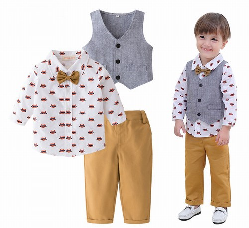 Grey and White Format Wear Outfit on this Rakhi