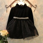 Birthday Party Black Shimmer dress