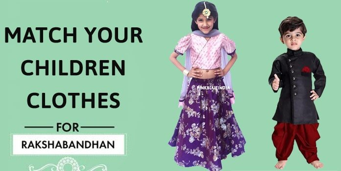 Children Clothes for Raksha Bandhan