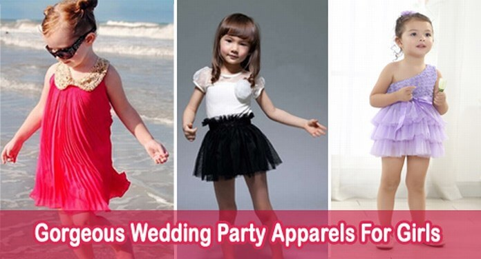 Wedding Party Apparels For Girls