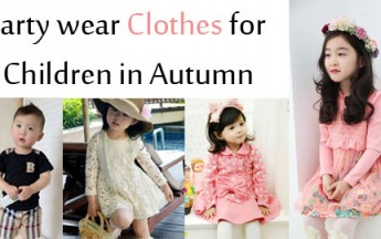 Beautiful Party wear Clothes for Children in Autumn