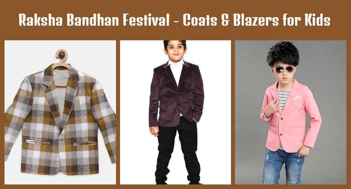 Raksha Bandhan Festival Coats - Kids Blazers