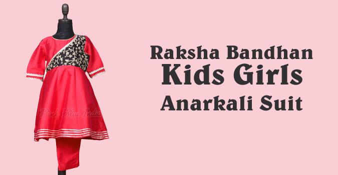 Raksha Bandhan Kids Salwar Kameez