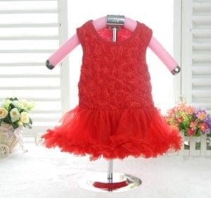Ravishing Red Partywear Rompers