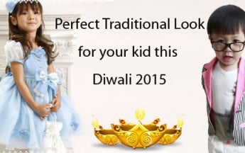 Choosing the Perfect Traditional Clothing for your kid this Diwali