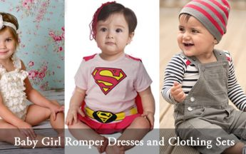 Best 5 Romper Dresses and Clothing Sets for Cute Baby Girls