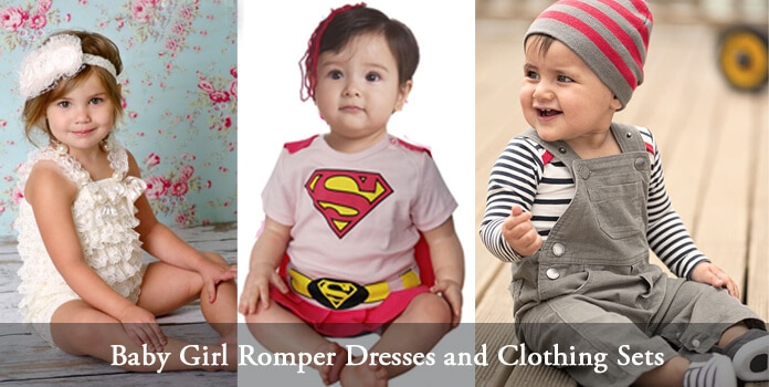 Baby Girl Romper Clothing Sets