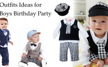 10 Cute Outfits Ideas for Baby Boys Birthday Party