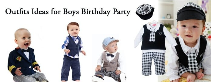 Baby Boys Birthday Party Outfits Ideas