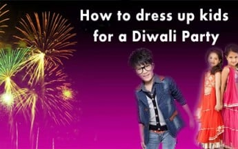 How to dress up kids for a Diwali Party