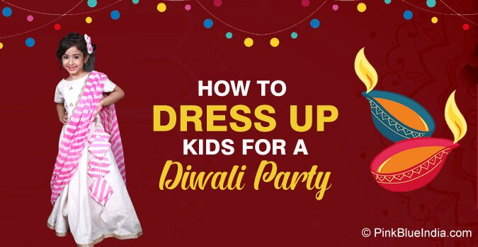 kids dress for Diwali Party