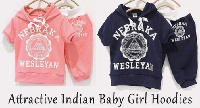 Indian Baby Girl Hoodies