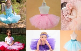 Baby Girls tutu skirts for Birthday Parties