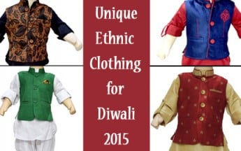Unique Kids Traditional Dresses and Ethnic Clothing for Diwali 2017