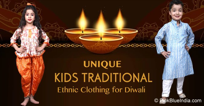 Kids Traditional Dresses Diwali