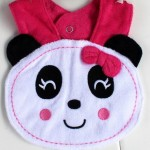 Burp Cloths & Bibs in Panda Face
