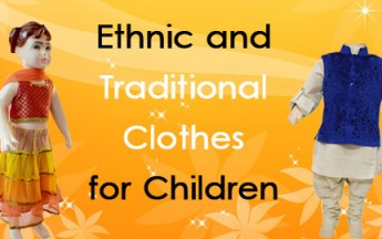Ethnic and Traditional Clothes for Children In India