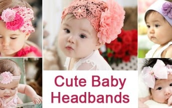 Different Types of Baby Headbands for Girls in India