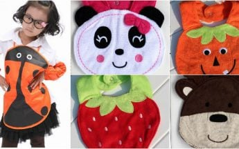 Smart Baby Bib and Apron Styles for Indian Kids