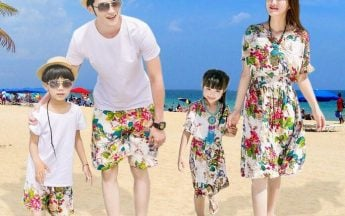 7 Amazing and Unique Coordinate Family Matching Clothing
