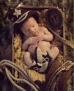 Cowboy and Cowgirl Baby Clothes