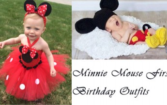 Cute Minnie Mouse First Birthday Outfits and Dresses for Kids