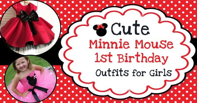 Minnie Mouse Party Dress, First Birthday Outfits