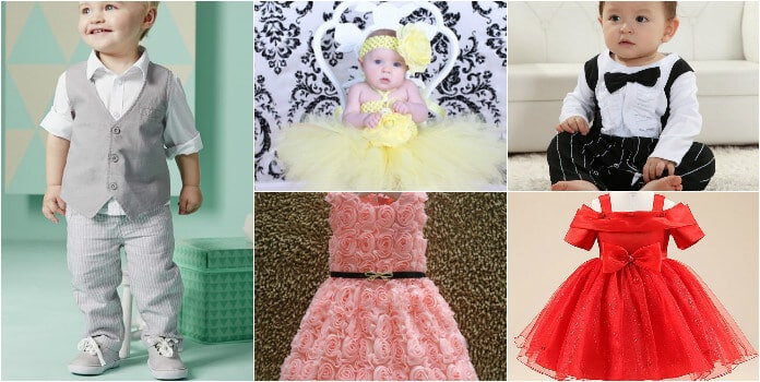 First Birthday Baby Clothing and Outfits