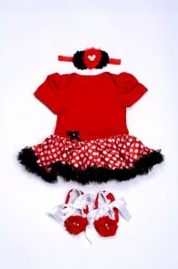 3 Piece Christmas December Dress