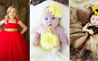 Amazing First Birthday Tutu Outfits and Dresses Designs for One Year Old Baby Girl