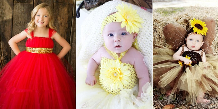 Baby First Birthday Tutu Dresses
