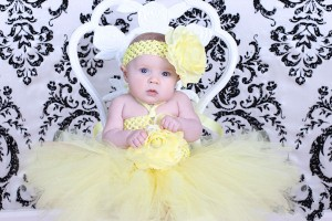 Yellow Tutu Dress for birthday Girls