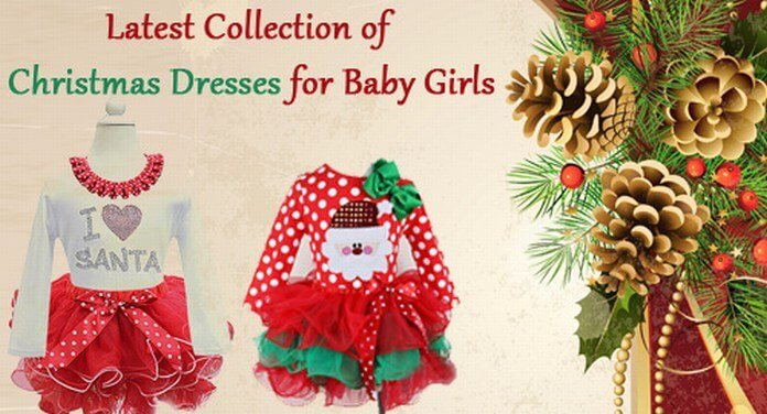 Baby Girl Christmas Dresses, Christmas Holiday Party Outfit
