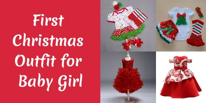First Christmas Outfit, Baby Girl Christmas Dress