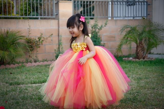 Designer Flower Girl Tutu Dress Style