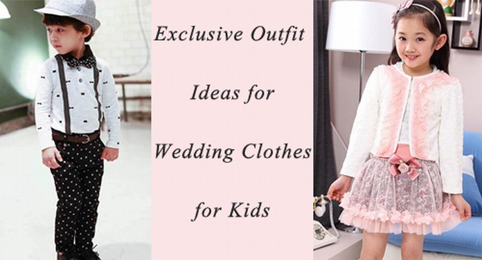 Kids Wedding Clothes India