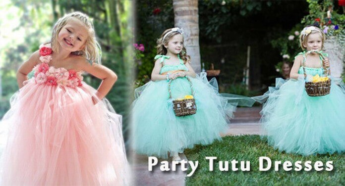 kids party tutu dress and outfits
