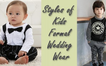 Various Styles of Kids Formal Wedding Wear for Boys