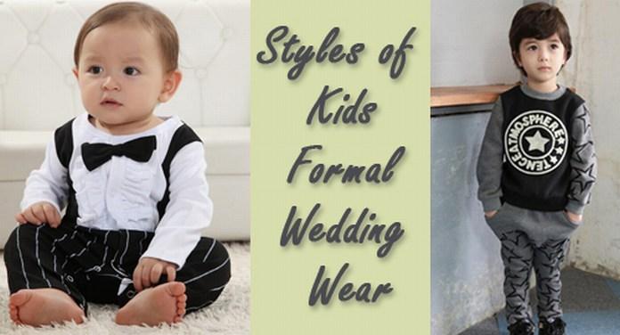 Kids Formal Wedding Wear