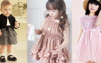 Exclusive Baby Party Dresses and Designer Frocks in the latest styles