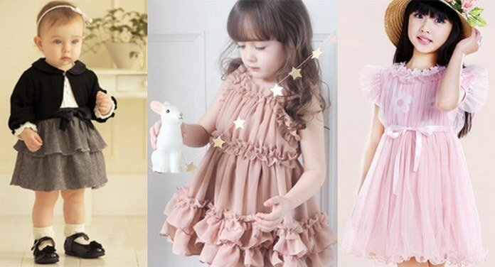 Baby Desinger Party Dresses
