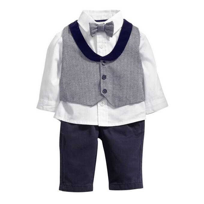 Gentleman Style Kids Formal Suit