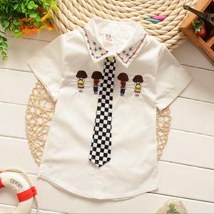 Baby Boy White Shirt for Holi
