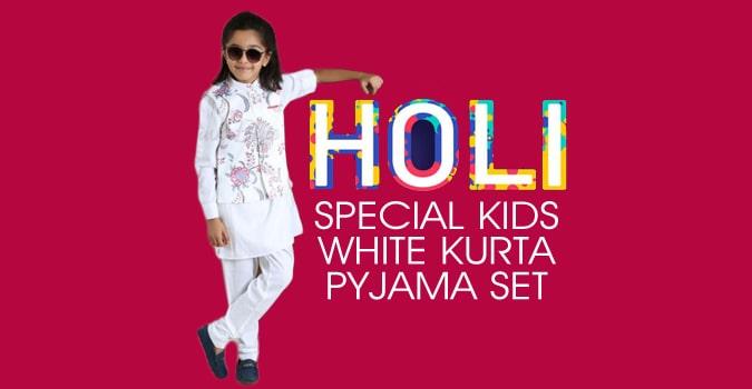 Ethnic White Dhoti Kurta