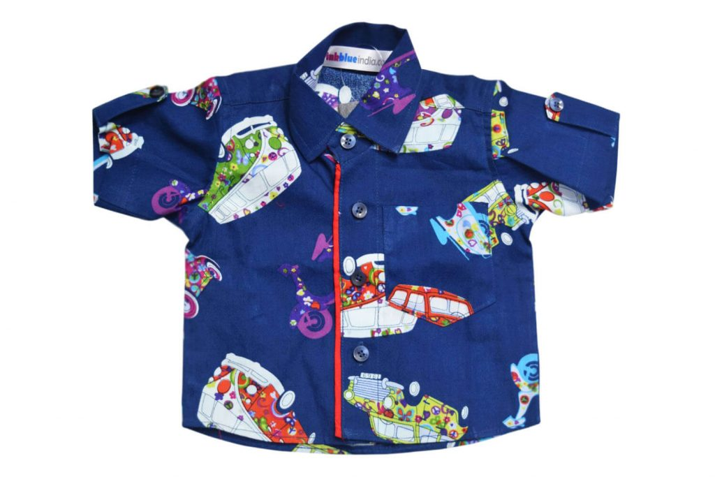 Funky Cotton Summer Shirt