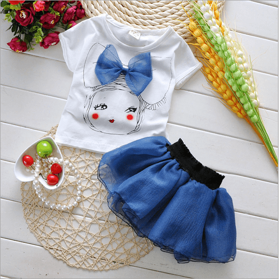 Baby Skirt Top Combo