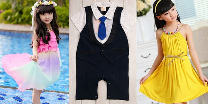 Kids Summer Clothes India
