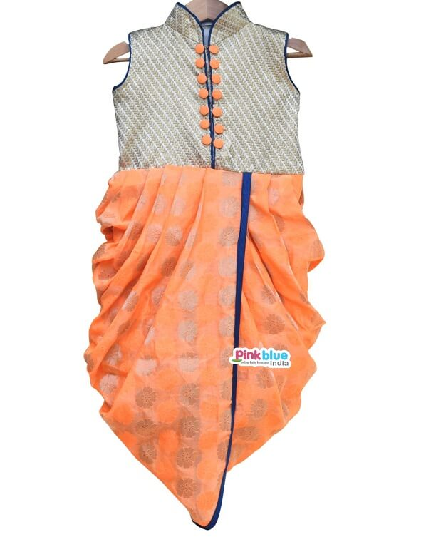 Dhoti Style Dress